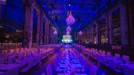 Veranstaltung der Firma ESSILOR im Kraftwerk in Berlin. Die Dekoration der Veranstaltung wurde von flores y amores für die Locations konzipiert, visualisiert und umgesetzt.